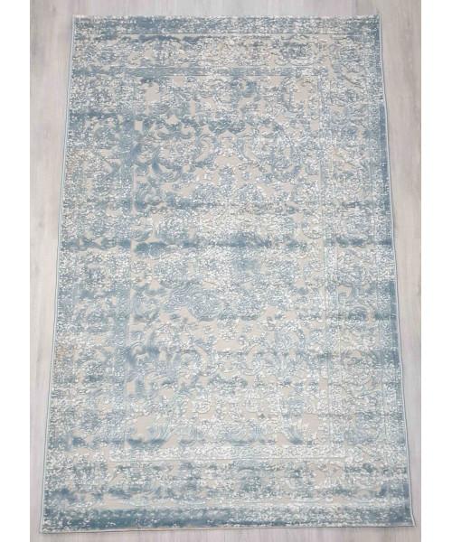 Ковер GLORIA 3793A клей прямой с.голубой/с.голубой