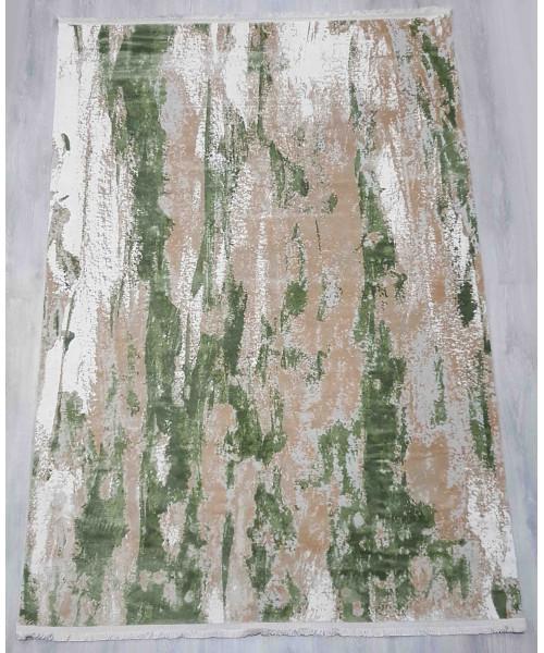 Ковер INCI 2586B клей прямой зеленый/серый
