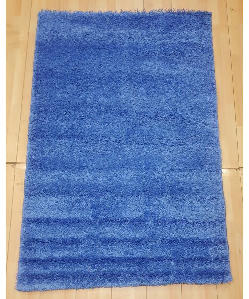 Ковер LIGHT SHAGGY 0000R клей прямой голубой/голубой