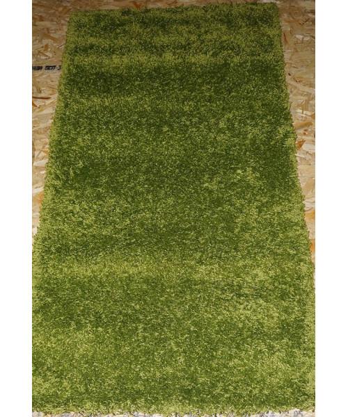 Ковер LIGHT SHAGGY 0000R клей прямой т.зеленый/т.зеленый