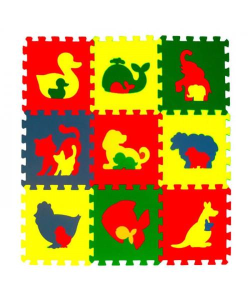 Мягкие полы Ekoprom Eco Cover Животные Звери и птицы