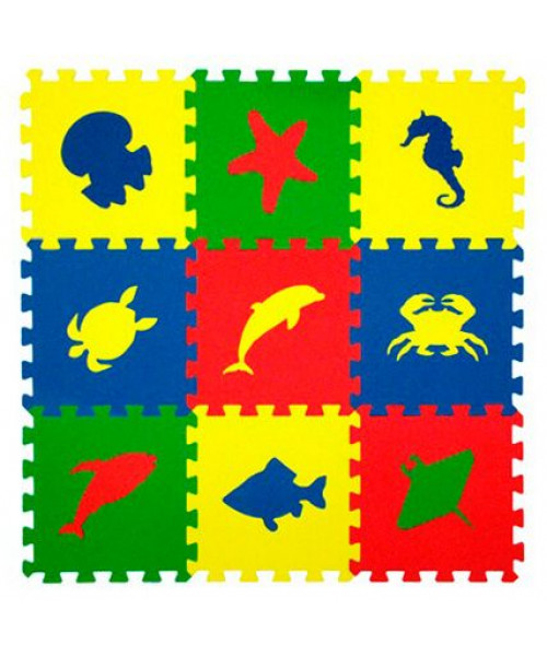 Eco Cover Морские животные Цветная плитка