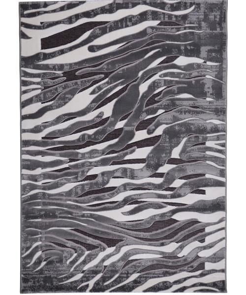 Ковер PEGAS 3860F клей прямой серый/серый